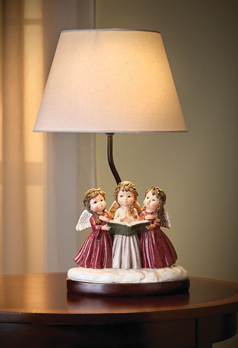 8886: Carolers Lamp (Product Detail)
