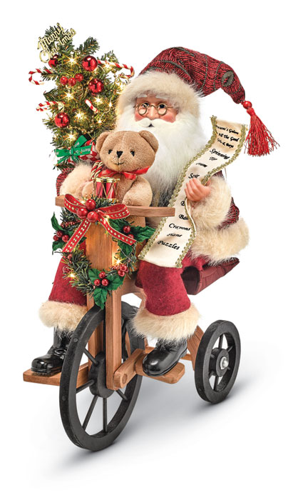 8812: Santa on Tricycle (Product Detail)