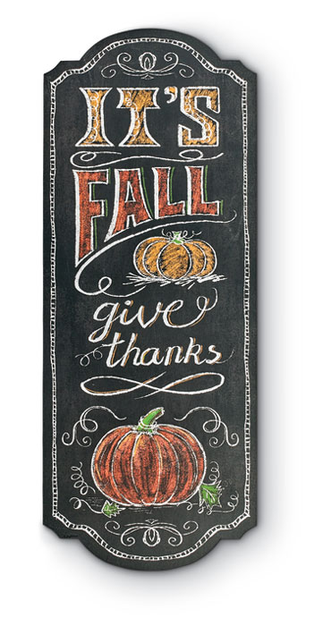 8818: Give Thanks Sign (Product Detail)