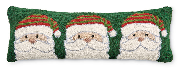 8970: Santas Lumbar Pillow (Product Detail)