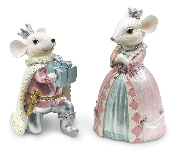 8835: Sweet Dreams Prince and Princess Mice (Set of Two) (Product Detail)