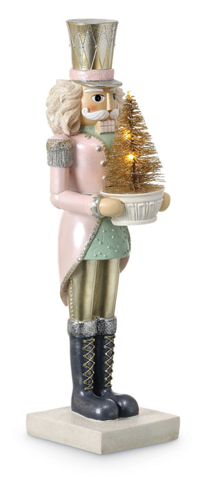 8836: Sweet Dreams Nutcracker with Tree (Product Detail)