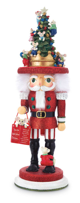 8904: Santa Nutcracker with Mice Helpers (Product Detail)