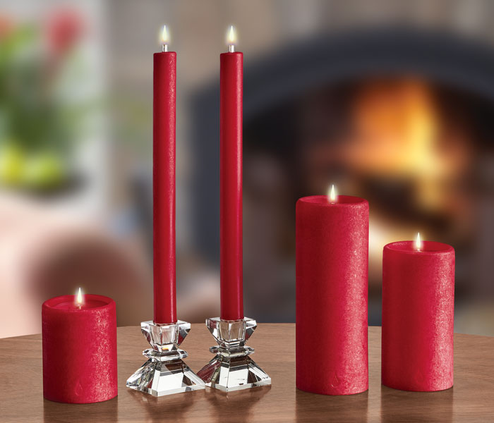 "9979: Red Dinner Candle 11"" (each) (Product Detail)"