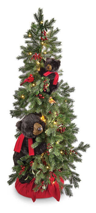 9480: Black Bears with Tree (Product Detail)