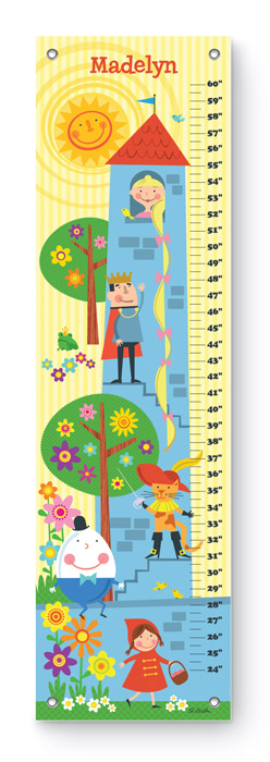9526: Growth Chart - Fairy Tale (Product Detail)