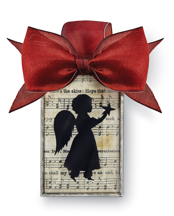 9522: Silhouette Ornament - Angel (Product Detail)
