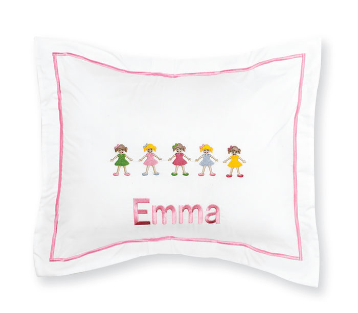 6101: My Colorful Girls Pillow (Product Detail)