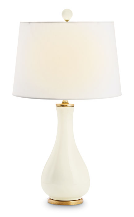 9696: Dove White Porcelain Lamp (Product Detail)
