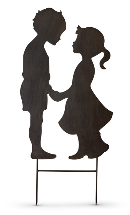 9574: Silhouette: First Love Boy and Girl (Product Detail)