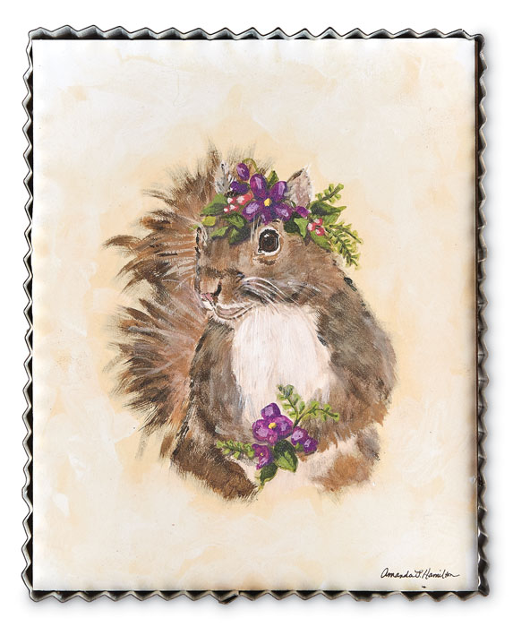 9649: Spring Woodland Squirrel Wall Art (Product Detail)