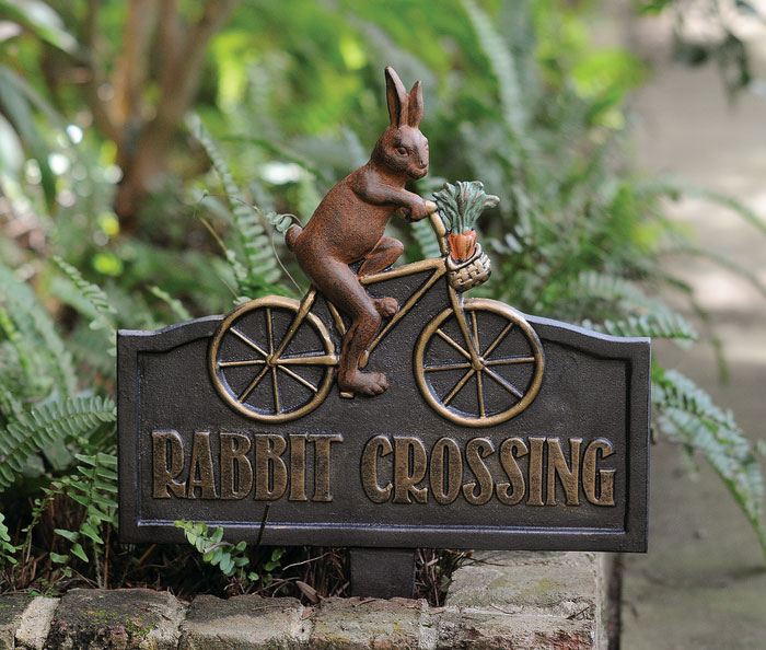 9701: Rabbit Crossing Sign (Product Detail)