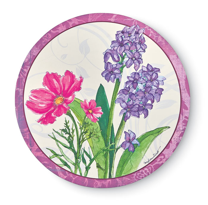 9708: Spring Blooms Lazy Susan (Product Detail)