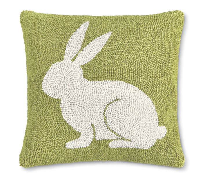 9721: Bunny Silhouette Pillow (Product Detail)