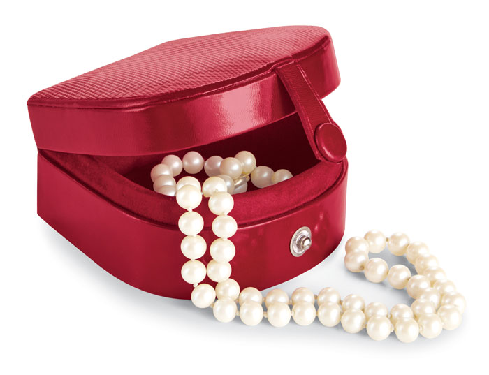 9655: Handmade Leather Jewelry Box (Product Detail)