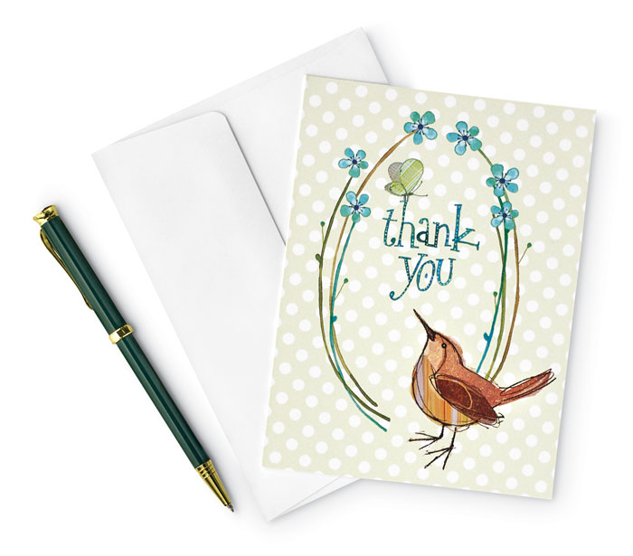 "9625: ""Thank You"" Boxed Cards (Set of 15) (Product Detail)"