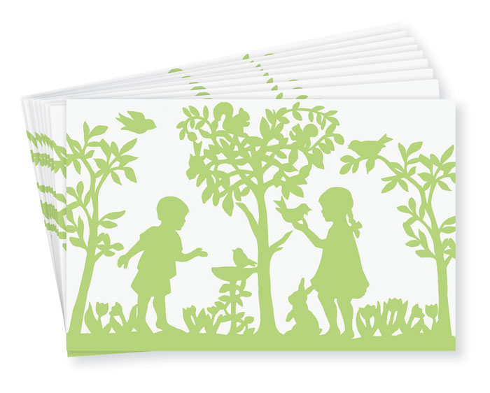 9762: Spring Paper Placemats (Set of 24) (Product Detail)
