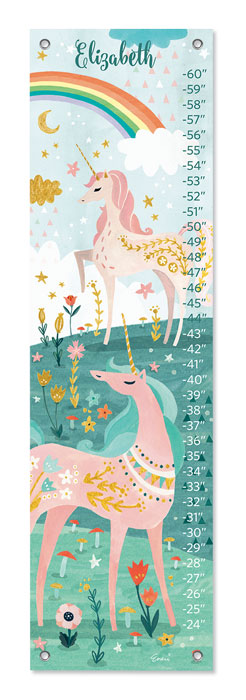 7142: Growth Chart - Unicorns (Product Detail)