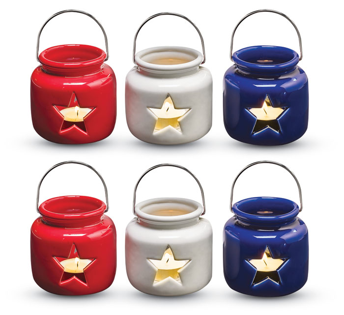 9570: Americana Votives (Set of Six) (Product Detail)