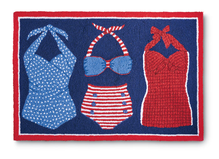 7149: Swimsuits Rug (Product Detail)