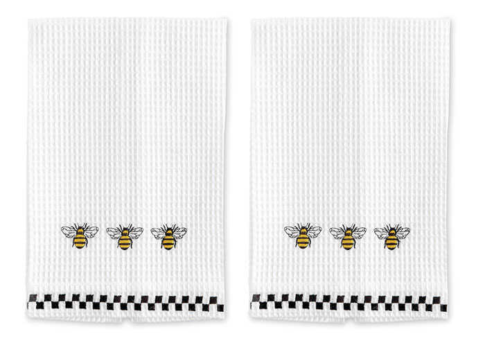 9711: Bee Towels (Set of Two) (Product Detail)
