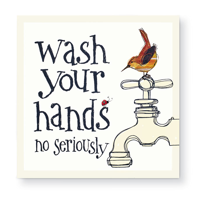 9775: Wash Hands Sign (Product Detail)