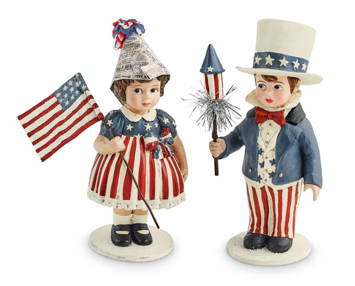 5754: Patriotic Kids (Set of Two) (Product Detail)