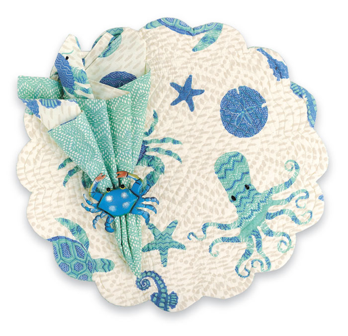 9788: Ocean Life Placemats (Set of Four) (Product Detail)