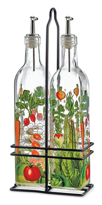 9800: Veggie Garden Cruet Set (Product Detail)