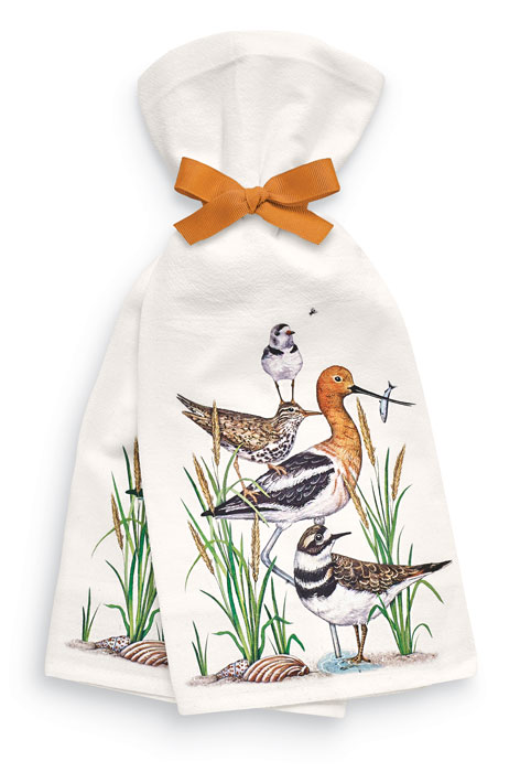 9852: Shore Birds Towels (Set of Two) (Product Detail)