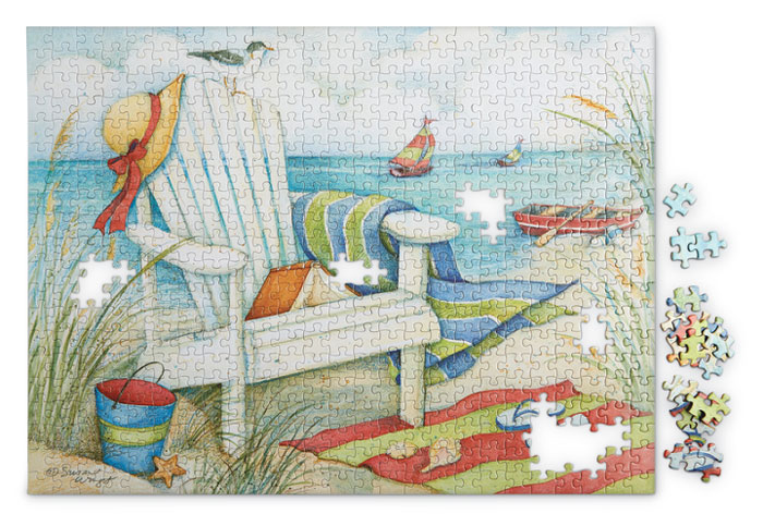 9854: Summer Days Puzzle (Product Detail)