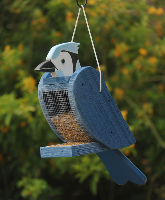 9833: Blue Jay Bird Feeder (Product Detail)