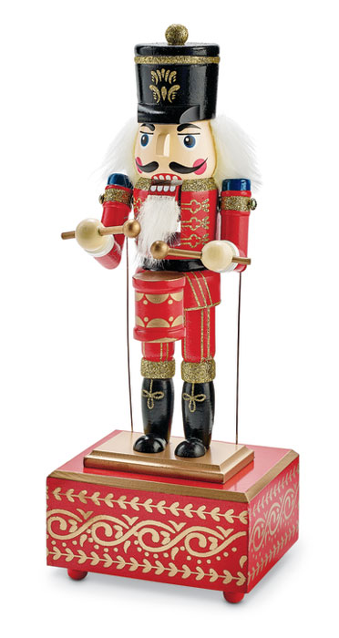 9872: Red Musical Nutcracker (Product Detail)