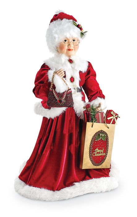 9939: Mrs. Claus with Gifts (Product Detail)