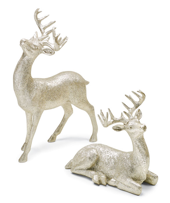 9885: Sparkle Deer (Set of Two) (Product Detail)