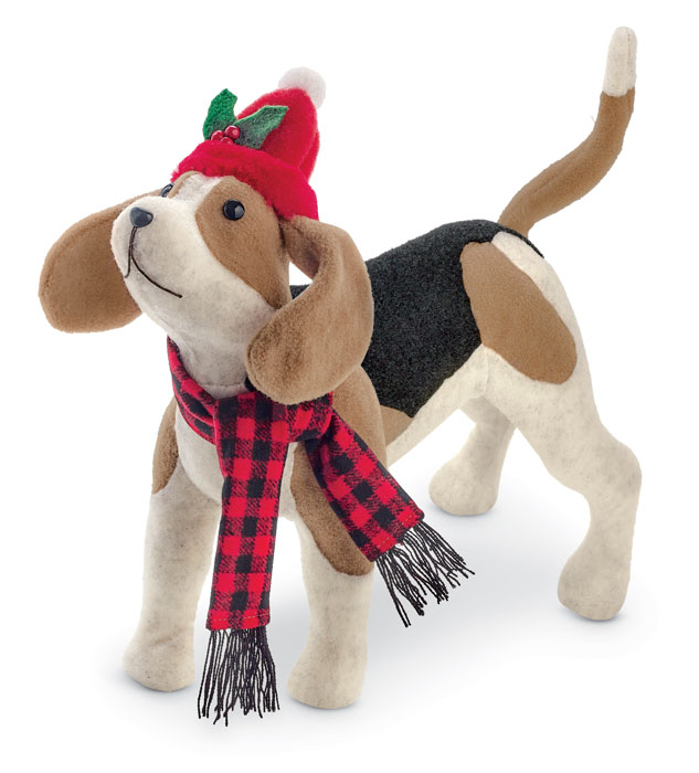 9881: Holiday Beagle (Product Detail)