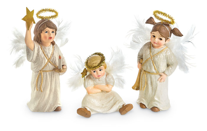 9093: Christmas Play Angels (Set of Three) (Product Detail)