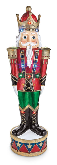 9064: Nutcracker with LED Lights 3