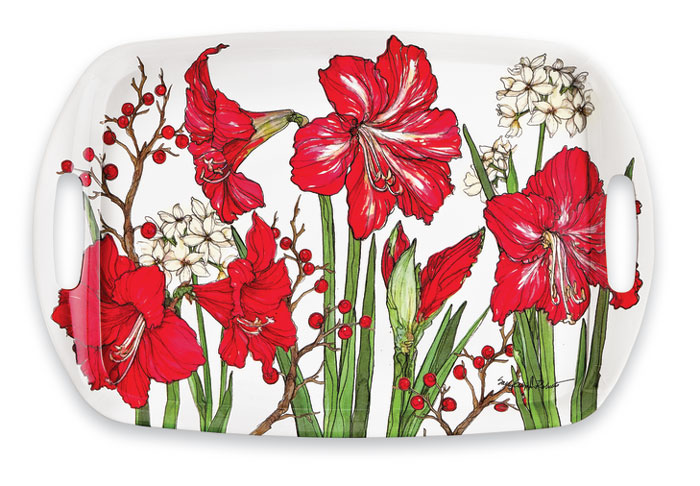 9143: Amaryllis Tray (Product Detail)