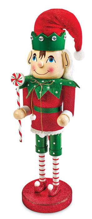 7547: Peppermint Elf Nutcracker (Product Detail)