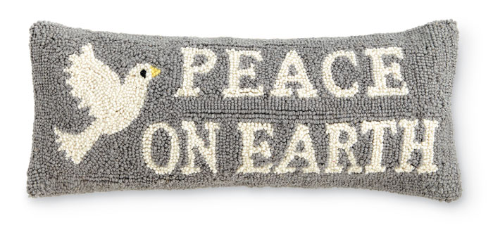 6065: Peace on Earth Pillow (Product Detail)