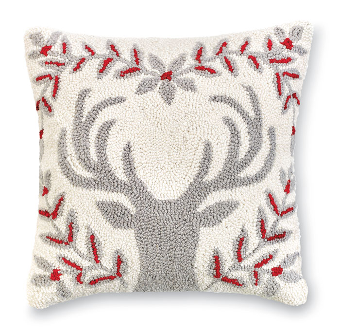9059: Deer Silhouette Pillow (Product Detail)