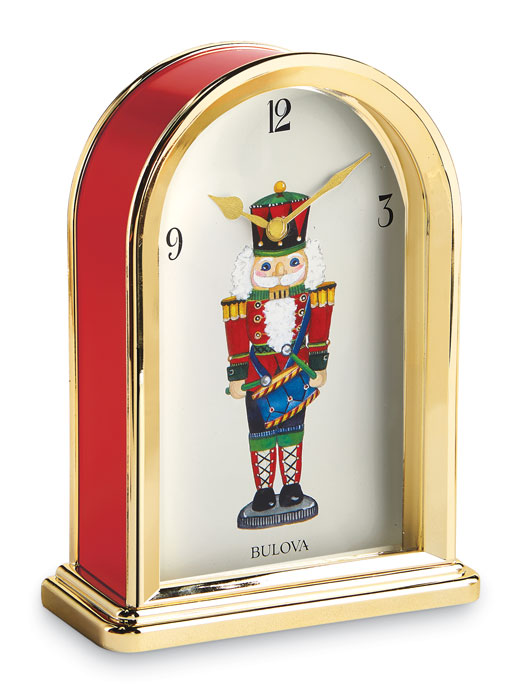 6546: Nutcracker Musical Clock (Product Detail)