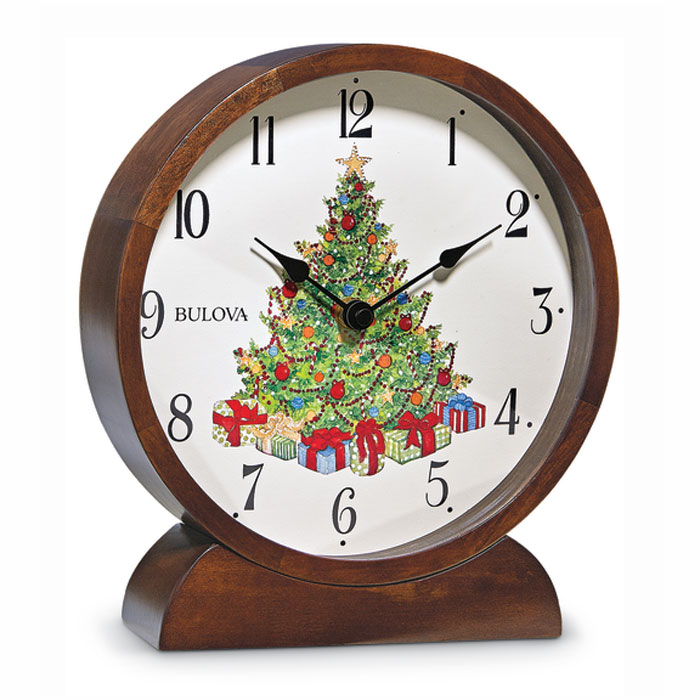 7429: Holiday Musical Clock (Product Detail)