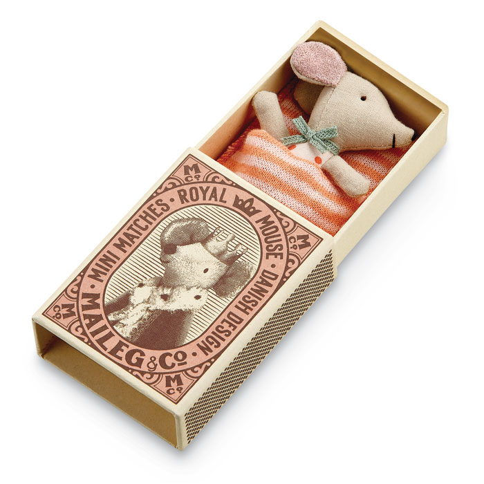 9170: Sleepy Baby Mouse with Box (Product Detail)