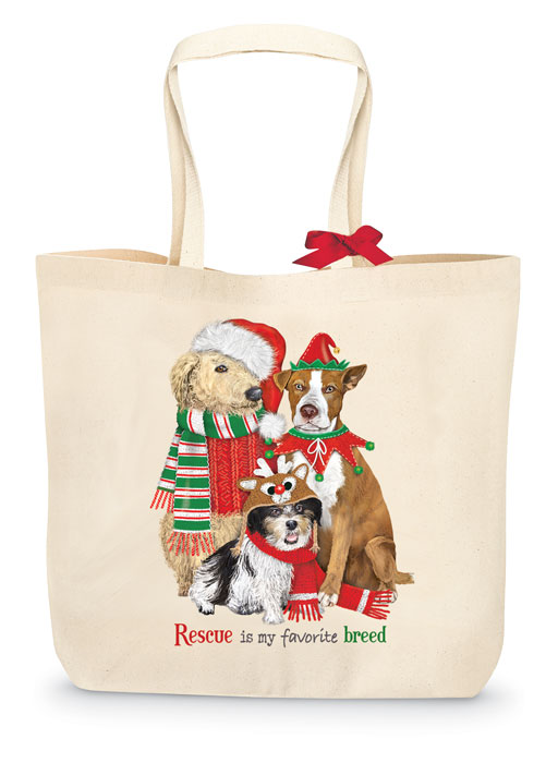 4228: Rescue Dogs Tote (Product Detail)