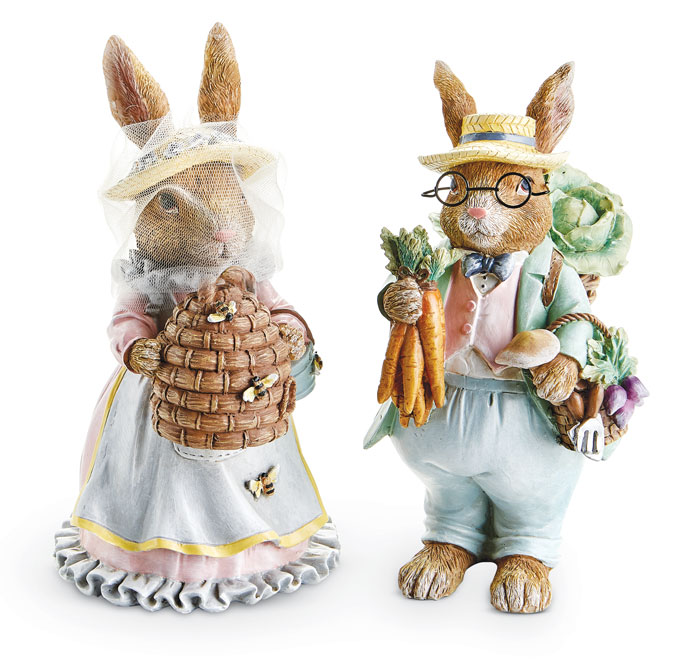 9220: Bunny Beekeeper (on left) (Product Detail)