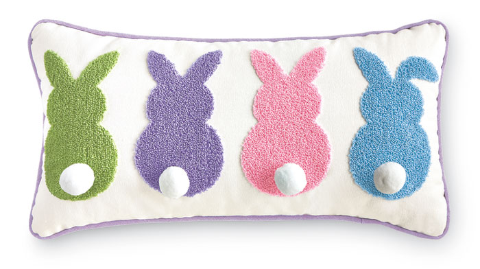 9228: Bunny Fluffy Tails Pillow (Product Detail)