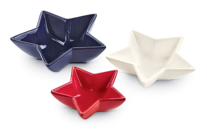 9291: Star Dishes (Set of Three) (Product Detail)