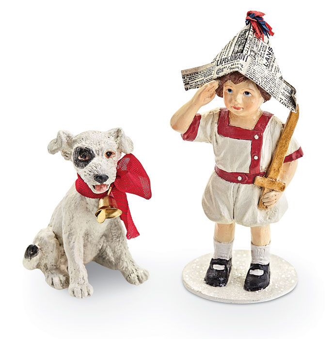 9250: Let Freedom Ring Boy and Dog (Set of Two) (Product Detail)